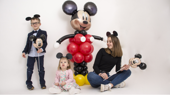 Mickey Mouse baloni i party