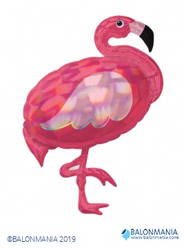 Flamingo balon folijski